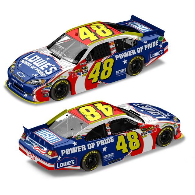 Hendrick Motorsports Jimmie Johnson #48 2011 Power of Pride 1:24 Die Cast