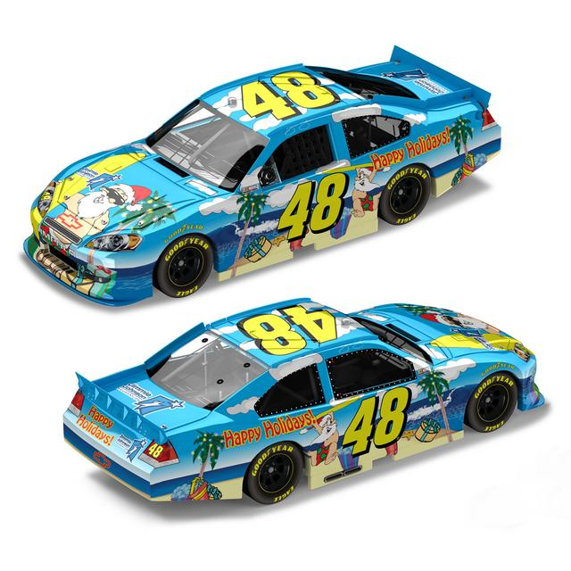 Hendrick Motorsports Jimmie Johnson 2011 Sam Bass Holiday 1:24 Scale Diecast