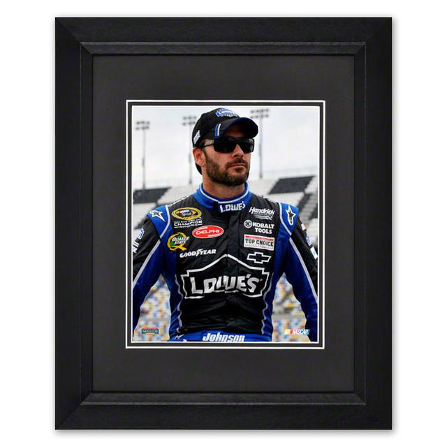 "Hendrick Motorsports Jimmie Johnson #48 Framed 8""x 10"" Driver Photo"