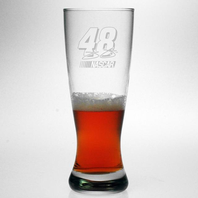 Hendrick Motorsports Jimmie Johnson 20oz Etched Grand Pilsner Glass