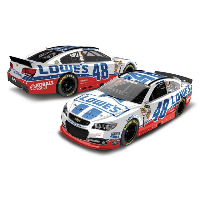 Hendrick Motorsports Jimmie Johnson #48 2013 Lowes Unites 1:24 Scale Diecast HOTO