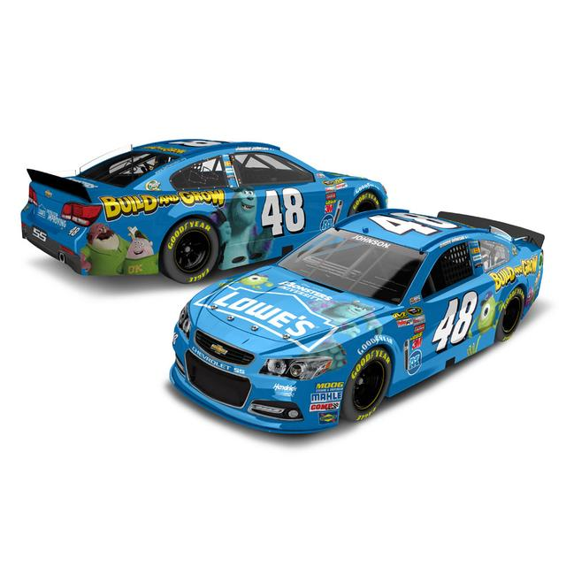 Hendrick Motorsports Jimmie Johnson #48 Lowes Monsters University 1:24 Scale Diecast HOTO
