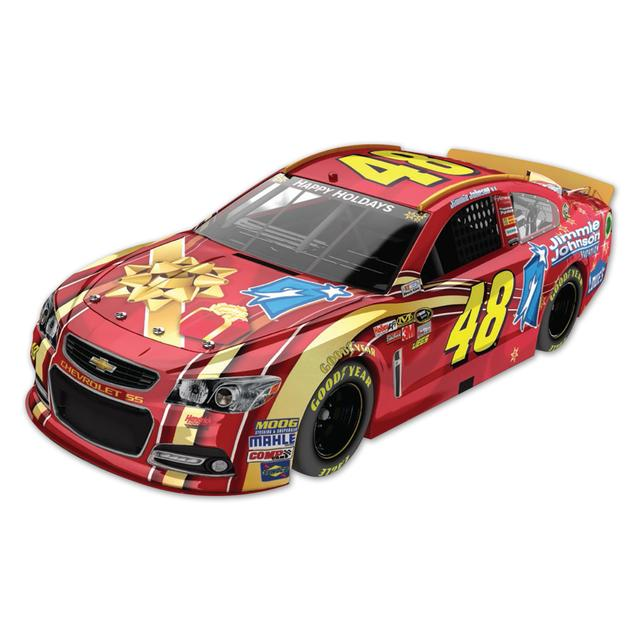Hendrick Motorsports Jimmie Johnson #48 Foundation Holiday 1:24 Scale Diecast HOTO