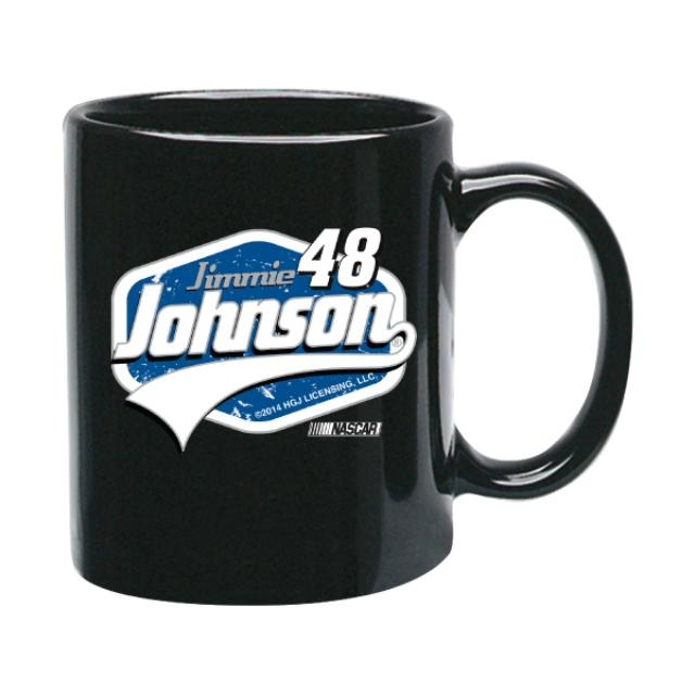 Hendrick Motorsports Jimmie Johnson- 2014  11 oz. Black Coffee Mug