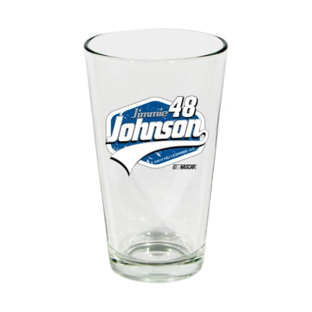 Hendrick Motorsports Jimmie Johnson-2014 17 ozMixing Glass