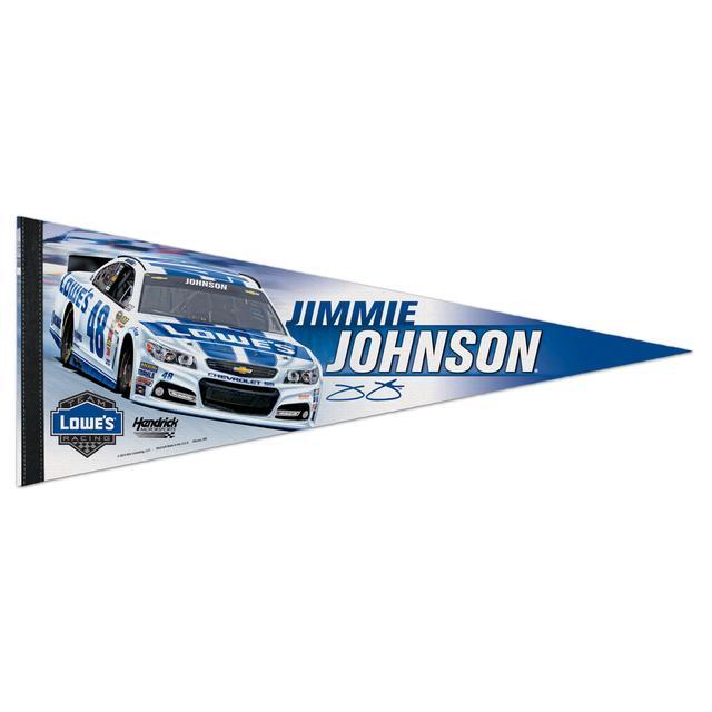 Hendrick Motorsports Jimmie Johnson-2014 12x30 premium quality pennant