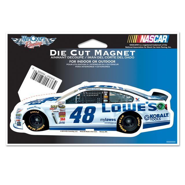 Hendrick Motorsports Jimmie Johnson-2014 2 X 6 magnet