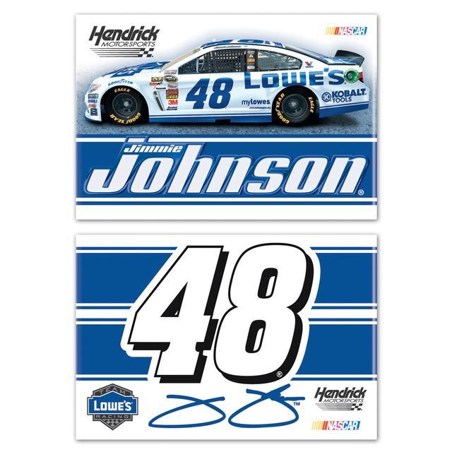 Hendrick Motorsports Jimmie Johnson-2014 2x3 magnet 2 pack
