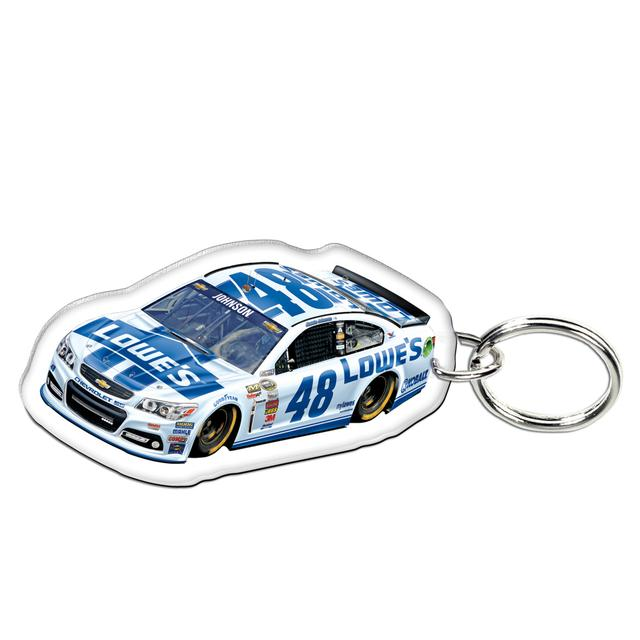Hendrick Motorsports Jimmie Johnson-2014 Premium acrylic mirrored key ring