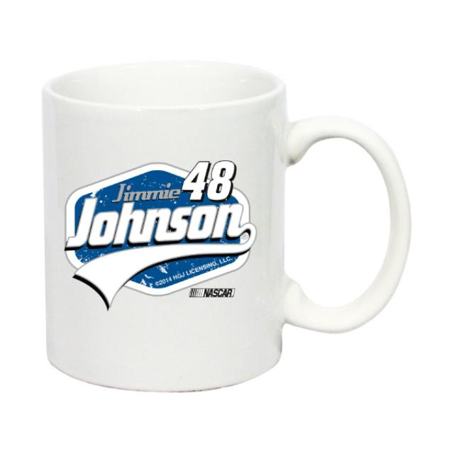 Hendrick Motorsports Jimmie Johnson- 2014  11 oz White Coffee Mug