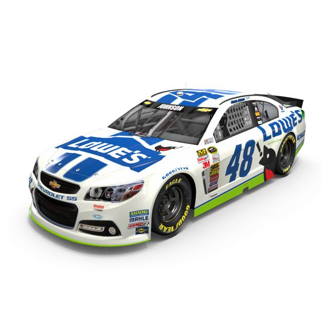 Hendrick Motorsports Jimmie Johnson - #48 Spring is Calling 2014 Nascar Sprint Cup Series Diecast 1:24 Scale Color Chrome