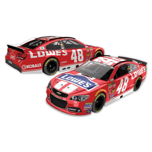 Hendrick Motorsports Jimmie Johnson 2014 #48 AAA Texas 500 Race Winner 1:24 Scale Nascar Sprint Cup Series Diecast