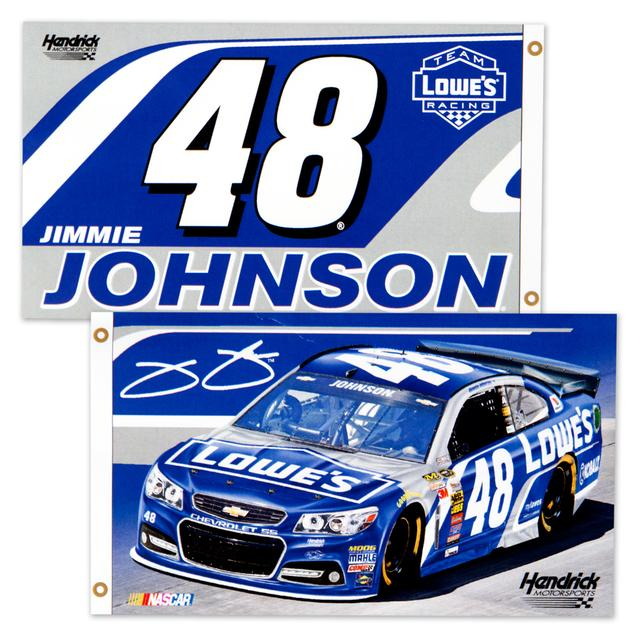 Hendrick Motorsports Jimmie Johnson 2 Sided 3X5 Flag