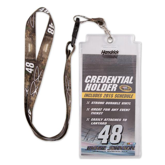 Hendrick Motorsports Jimmie Johnson Lanyard/Credentials