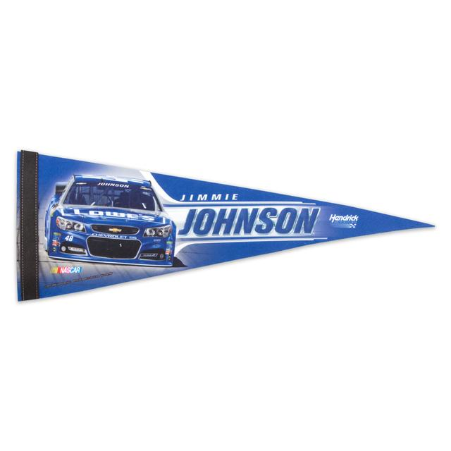 "Hendrick Motorsports Jimmie Johnson 9"" x 24"" Pennant"
