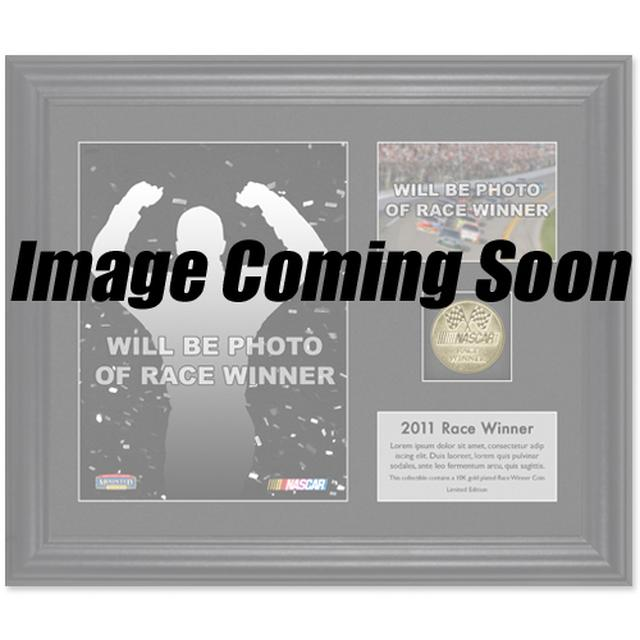 Hendrick Motorsports Jimmie Johnson 2015 Kansas Race Win Framed 15'' x 17'' Collage With -Used Tire