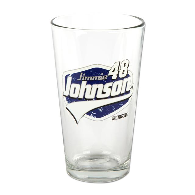Hendrick Motorsports Jimmie Johnson 2015 Pint Glass