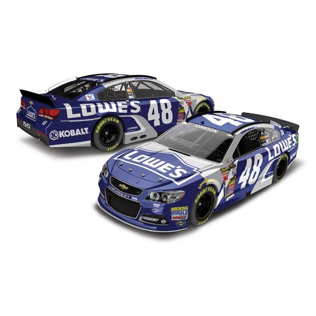 Hendrick Motorsports Jimmie Johnson #48 2015 Kansas Race Win 1:24 Diecast