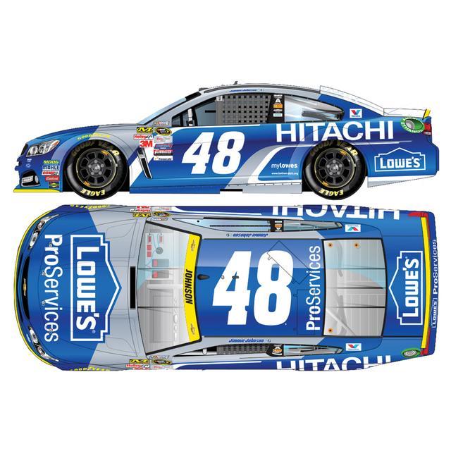 Hendrick Motorsports Jimmie Johnson #48 1:24 Scale 2015 Lowe's ProServices/Hitachi Diecast