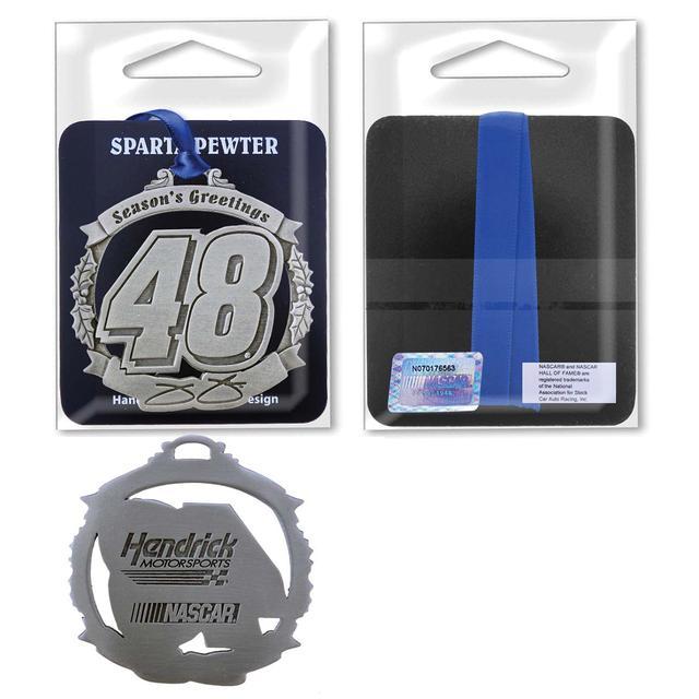 Hendrick Motorsports Jimmie Johnson #48 Season's Greeting Ornament