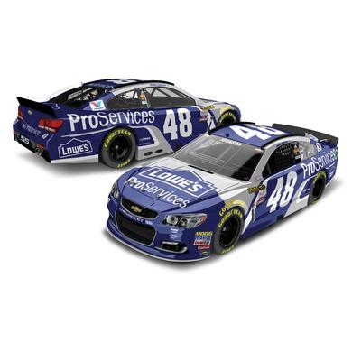 Hendrick Motorsports Jimmie Johnson 2016 #48 ProServices 1:24 Scale Nascar Sprint Cup Series Die-Cast