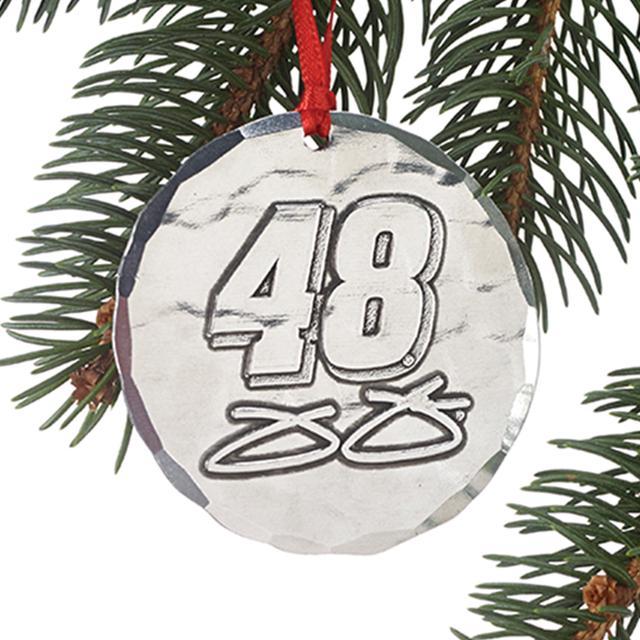 Hendrick Motorsports Jimmie Johnson #48 Round Ornament