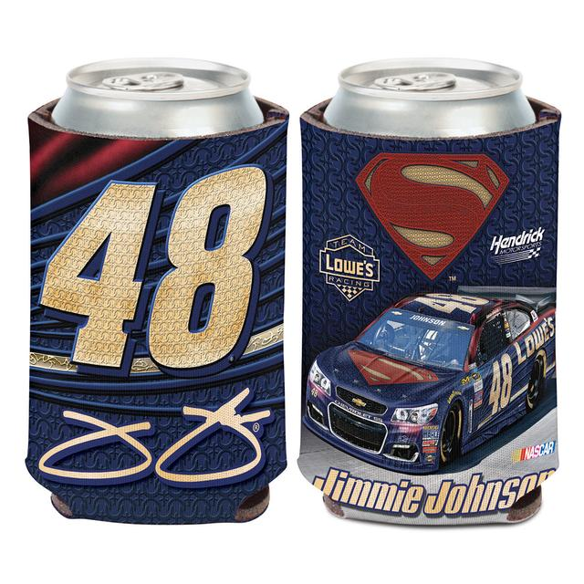 Hendrick Motorsports Jimmie Johnson #48 Superman Can Koozie