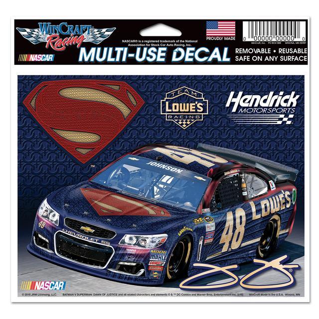 Hendrick Motorsports Jimmie Johnson #48 Superman Multi Use Decal