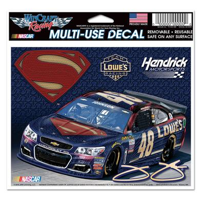 Hendrick Motorsports Jimmie Johnson #48 Superman Multi Use Decal