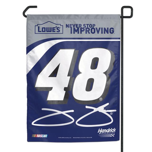 """Hendrick Motorsports Jimmie Johnson #48 11"""" x 15"""" Garden Banner"""