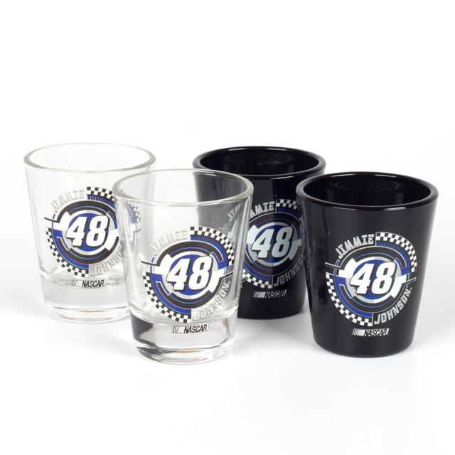 Hendrick Motorsports Jimmie Johnson #48 Collector Glass Set-4P
