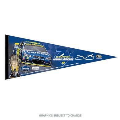 "Hendrick Motorsports Jimmie Johnson 2016 NASCAR Sprint Cup Champion Premium Pennant 12"" x 30"""