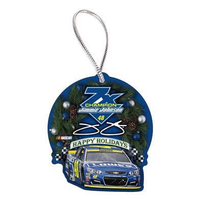 Hendrick Motorsports Jimmie Johnson #48 7X Champion Ornament