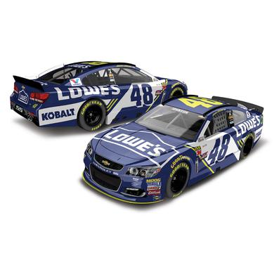 Hendrick Motorsports Jimmie Johnson 2017 NASCAR  No. 48 Lowes 1:64 Die-Cast