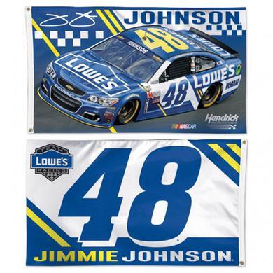 Hendrick Motorsports Jimmie Johnson 2-sided Flag - 3' x 5'