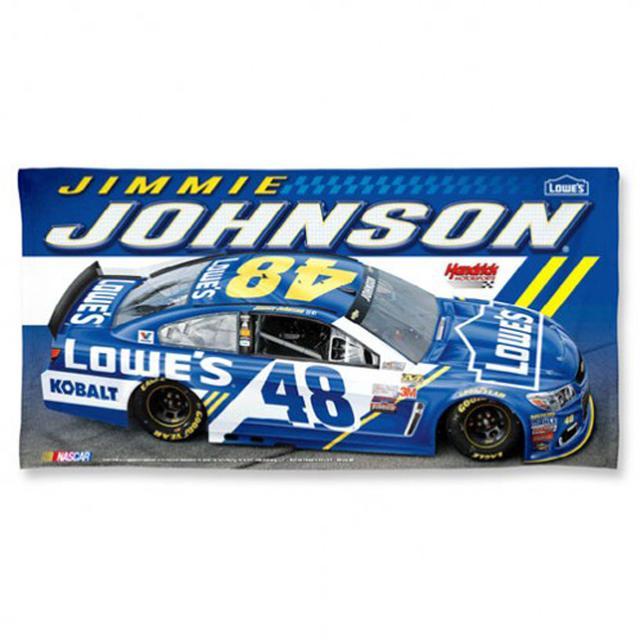 "Hendrick Motorsports Jimmie Johnson Spectra Beach Towel - 30"" x 60"""