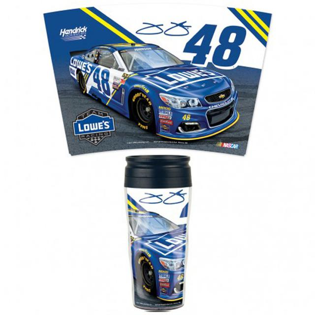 Hendrick Motorsports Jimmie Johnson Travel Mug - 16oz