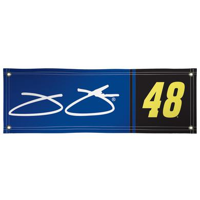 Hendrick Motorsports Jimmie Johnson Vinyl Banner 2' x 6'