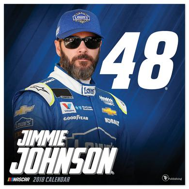 "Hendrick Motorsports Jimmie Johnson #48 2018 12""x 12"" Wall Calendar"