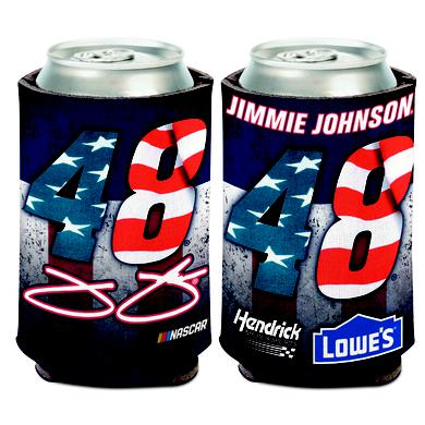 Hendrick Motorsports Jimmie Johnson #48 Patriotic Can Cooler - 12oz