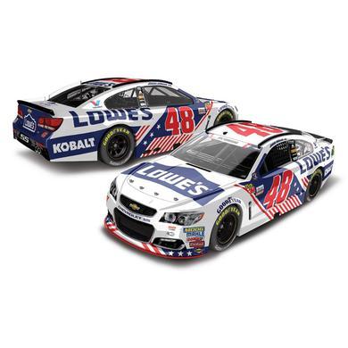 Hendrick Motorsports Jimmie Johnson 2017 NASCAR Cup Series No. 48 Lowe's Patriotic 1:24 Die-Cast