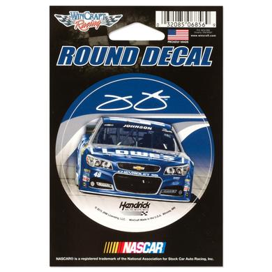 "Hendrick Motorsports Jimmie Johnson 3"" x 3"" Decal"