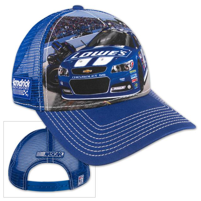 Hendrick Motorsports Jimmie Johnson Lowes Sublimated Adjustable Cap