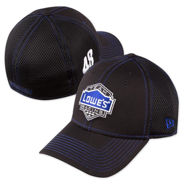 Hendrick Motorsports Jimmie Johnson - 2015 New Era Black Neo 39Thirty Stretch Fit Hat
