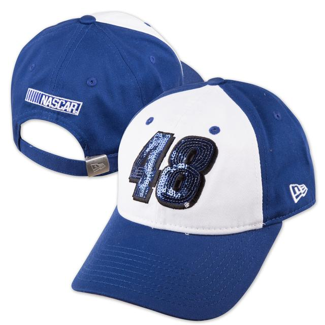 Hendrick Motorsports Jimmie Johnson New Era Team Glimmer 9FORTY Adjustable Ladies Hat