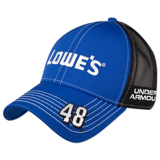 Jimmie Johnson #48 Lowe's Official Hendrick Motorsports Team Hat by Under Armour