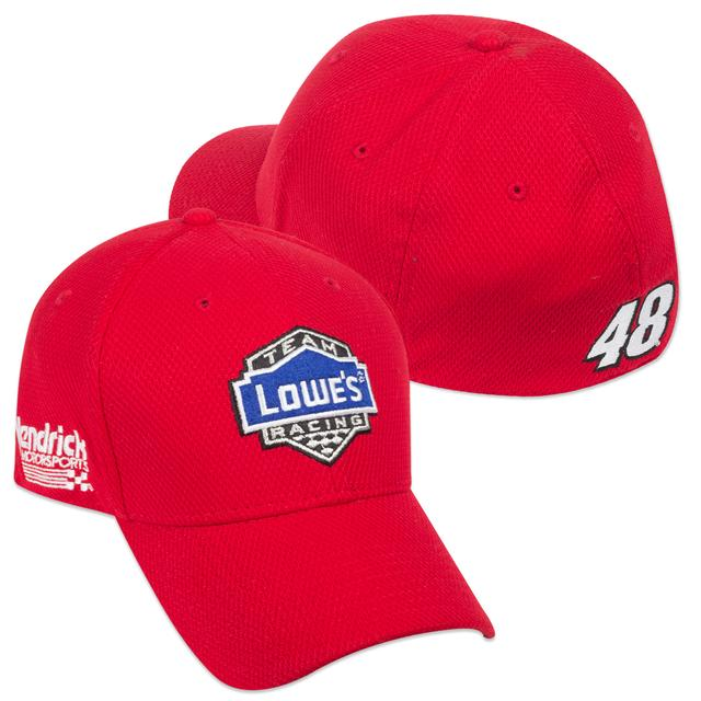 Hendrick Motorsports Jimmie Johnson New ERA #48 2015 Lowe's Red Vest Hat