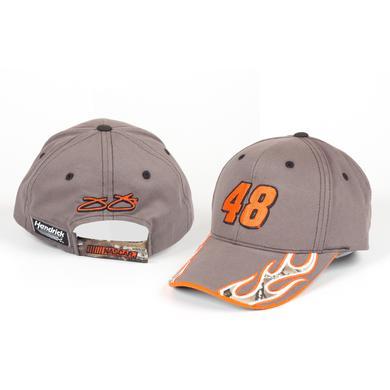 Hendrick Motorsports Jimmie Johnson #48 Camo Flame Hat