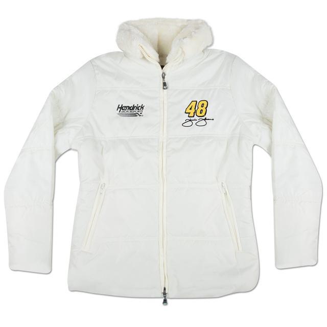 Hendrick Motorsports Jimmie Johnson #48 Ladies Puffy Jacket