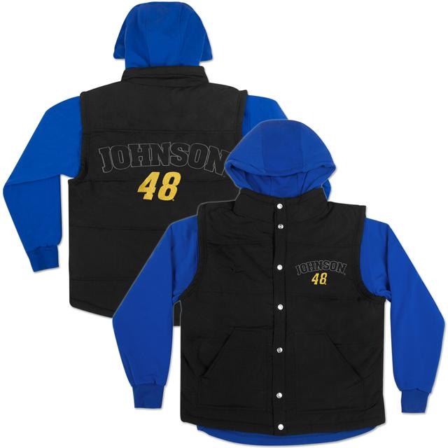 Hendrick Motorsports Jimmie Johnson #48 Youth 3 in 1 Vest Jacket